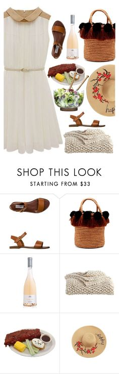 """""""Contest : Picnic in the park"""" by pecolinette ❤ liked on Polyvore featuring Steve Madden, Sensi Studio, DKNY and Sagaform"""