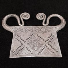 silver soul lock from the Hmong hilltribe of Laos | gleanings - Jewelry on ArtFire