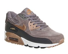 60c82dbcfbf7 Buy Iron Metallic Red Bronze Leather Nike Air Max 90 (w) from OFFICE.