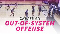 Creating an out-of-system offense Volleyball Training, Volleyball Practice, Volleyball Workouts, Volleyball Quotes, Volleyball Gifts, Coaching Volleyball, Volleyball Ideas, Girls Softball, Volleyball Players