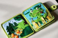 Fühlbuch Quietbook Filzekater