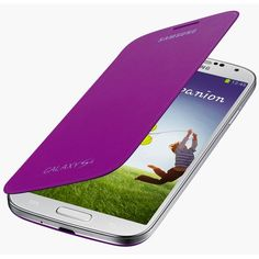 Funda Samsung Galaxy S4 Flip Cover Original - Sirius Purple