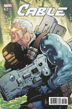 Cable #155 (2018) Variant Cover by Ryan Stegman