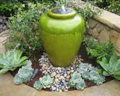 Garden-Fountain-ceramic