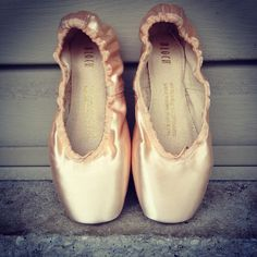 Just got my first pair of Bloch pointe shoes yesterday! they are so pretty!