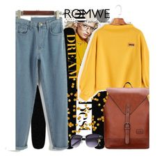 """""""ROMWE 2/VIII"""" by saaraa-21 ❤ liked on Polyvore featuring H&M, Kate Spade, vintage and romwe"""