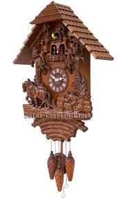 Cuckoo Clock Coo Coo Clock, German Nutcrackers, Grandfather Clocks, Cuckoo Clocks, Wainscoting, Black Forest, Wall Treatments, Wood Carving, Hand Carved