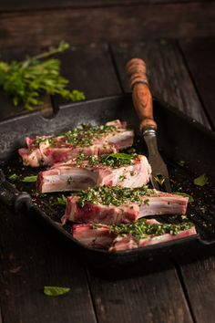 Raw Lamb Chops by Angelika Sorkina on 500px