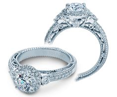VENETIAN-5063R {New} engagement ring from The Venetian Collection. Engagement rings by @Verragio