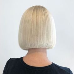 Short haircut has been popular in recent years and one of the most popular hair styles is bob hairstyle, bob hairstyle has been a classic hairstyle for years and there are many bob styles. Here is a gallery with Bob Hairstyles [Read the Rest] → Blonde With Pink, Beige Blonde, Short Hair Cuts, Short Hair Styles, Dark Chocolate Brown Hair, Sleek Bob, Blonde Bobs, Blonde Bob With Bangs, Short Blonde