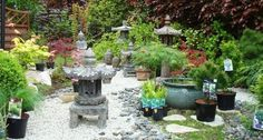 "Résultat de recherche d'images pour ""deco jardin zen"" Decoration, Feng Shui, Fountain, Patio, Outdoor Decor, Plants, Images, Home Decor, Garden Deco"