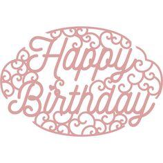 Buy Intricut Happy Birthday Die X from the Die Cutting Dies range at Hobbycraft. Birthday Cards For Friends, Friend Birthday, Kirigami, Special Birthday, Happy Birthday, Double Sided Sticky Tape, Birthday Sentiments, Glitter Cards, Scrapbook Designs