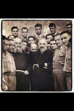 """Padre Pio ~ Pray in the footsteps of St. Pio and, his """"holy father"""" St. Francis of Assisi on pilgrimage with www.CatholicFaithJourneys.com  #CatholicBucketList #Italy #StPadrePio"""