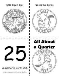 How can you introduce Washington in math?  Talk about him while learning about the Quarter.  This version has been in circulation since 1932.  Ask students why Washington would be on the Quarter.  Use for Dollar Bill too!