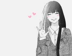 anime, kimi ni todoke, and manga image Kimi Ni Todoke, Manga Love, Manga Girl, Anime Girls, Danshi Koukousei No Nichijou, Manga Anime, Anim Gif, Shugo Chara, Kaichou Wa Maid Sama