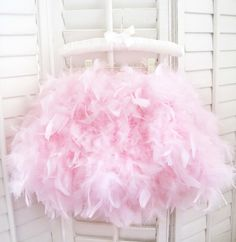 Parisian Pink Angel Feather Tutu- Love this for a little girl's first birthday party or pictures!!!