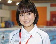 "Sakurako Ohara, BTS photo, J drama, sports comedy, ""Suikyu Yankees (Water Polo Yankees)"", 2014. Plot & Ep.1-10: http://dramanice.com/drama/suikyu-yankees-detail [Eng. Sub]"