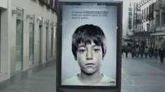 Ad with secret anti-abuse message only kids can see A Spanish charity called the Aid to Children and Adolescents at Risk Foundation (or ANAR for short) has created a mind-boggling advert that displays a secret message for children - hidden from adults' eyes - in order to empower those who suffer from child abuse to seek help. Indeed, good news! http://www.designtoimprovelife.dk/index.php?Itemid=287=18%3Anews=1189%3Aanti-abuse-add-only-kids-can-see=com_content=article