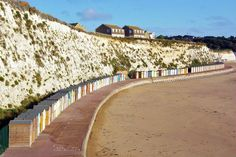Stone Bay, Broadstairs on the coast of Kent in England