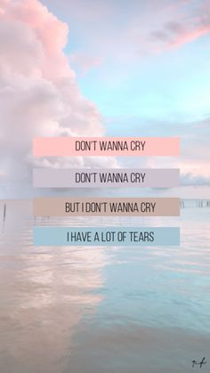 — Don't wanna cry - Seventeen [Lyrics wallpaper or lockscreen] K Wallpaper, Tumblr Wallpaper, Aesthetic Iphone Wallpaper, Wallpaper Quotes, Aesthetic Wallpapers, Wallpaper Backgrounds, Disney Wallpaper, K Pop, Seventeen Lyrics