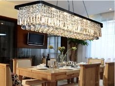 Modern Lustre Rectangle LED Chandelier Lighting Crystal Pendant Lamp For Decor Hanging Lamp Light fixture luminaire avize family room design * AliExpress Affiliate's Pin. You can get additional details at the image link. Crystal Ceiling Light, Crystal Chandelier Lighting, Chandelier Ceiling Lights, Room Lights, Lamp Light, Bronze Chandelier, Globe Chandelier, Chandelier Earrings, Chandelier Design