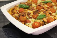 gnocchi met tomatensaus en kip