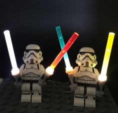 Basic Version LED Light Kit 4 in 1 For LEGO Star Wars Trooper Darth Vader Yoda General Grievous (Only Light - LEPIN™ Land Shop is product with the best Quality - Fast Shipping Worldwide. Brick Material, Christmas Mail, Led Light Kits, Jedi Knight, 4 In 1, Obi Wan, Lightsaber, Aliexpress, Light Decorations