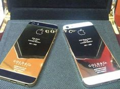 Insolite : Un iPhone 5 en Or 24 carats (video) - iPhone 5, 4S, iPad, iPod touch