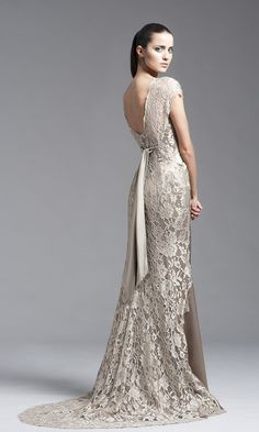 Peter Langner Evening 2014 Collection 140018 Back View