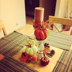 Thanksgiving decor ideas Thanksgiving Decorations, Table Decorations, Give Thanks, Playground, Special Events, Birthdays, Decor Ideas, Holidays, Fall