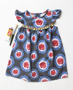 Matilda Jane Paint By Numbers Kentucky Blue Pearl Dress SOLD