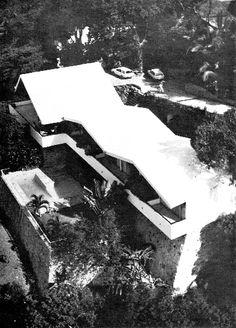 Casa de playa Carrillo, calle Almendros, Las Brisas, Acapulco, Guerrero, México 1965  Arq. Ricardo de Villafranca  Foto. Ikerne Cruchaga -   Carrillo beach house, calle Almendros, Las Brisas, Acapulco, Guerrero, Mexico 1965