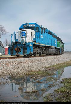 RailPictures.Net Photo: WLE 6382 Wheeling & Lake Erie EMD SD40-2 at Bellevue, Ohio by Cindy Luther