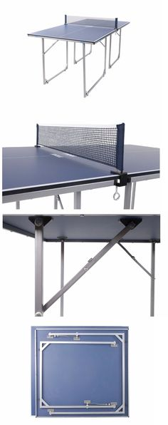 Tables 97075: Joola Midsize Table Tennis Table Ping Pong Folding Portable BUY IT NOW ONLY: $245.38