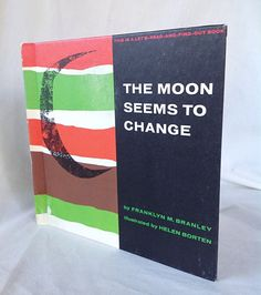 """Vintage """"The Moon Seems To Change"""" Children's Book 1960 on Etsy, $8.50"""