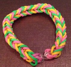 Loom Band Bracelets Fish Tail