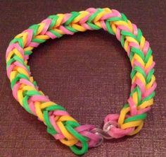 Loom Band Bracelets Fish Tail