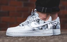 the best attitude 76a45 e5445 Nike Air Force 1 Low Reflective Camo (Pure Platinum) Dropping This Week
