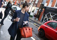 With a Céline bag
