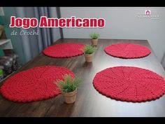 Jogo americano de Crochê ▶ INSCREVA-SE: http://goo.gl/mcBQT2 ▶ Facebook: http://www.facebook.com/professorasimonecroche ▶ Google+ : http://goo.gl/joAUsT Este...