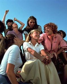 tell me more..tell me more Grease 2nd fav song!!! sing it all the time