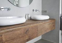 Badkamermeubel Op Maat Houtwerk Hattem Meubel Keukenmakerij Badkamermeubels Hout - #Badkamermeubel #Badkamermeubels #Hattem #HOUT #Houtwerk #Keukenmakerij #maat #meubel #op Design Thinking, Master Bathroom, Toilet, Wall Decor, House Design, Interior Design, Home, Bathrooms, Future