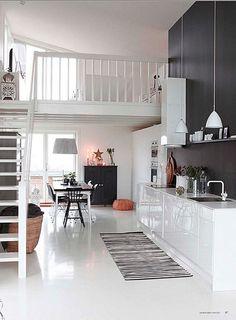 Alfombras en la cocina | Estilo Escandinavo