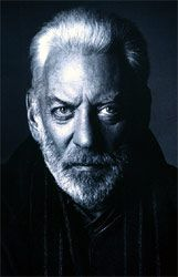 """Donald Sutherland - he's always been such a quality, sexy actor. I first fell in love with him in """"Don't Look Now"""" in the Donald Sutherland, President Snow, Like Fine Wine, Funny Boy, People Of Interest, Falling In Love With Him, Pretty Men, Portrait Inspiration, Good Looking Men"""