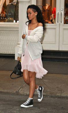 Rihanna - she looks more beautiful like that