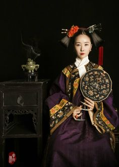 "changan-moon: "" Qing dynasty fashion by 叁木映画ForestStudio """