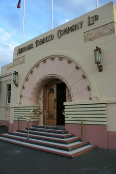 art deco buildings of Napier NZ
