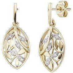 Dreambase Damen-Ohrschmuck Hängerstecker 14 Diamant-Brillanten 14 Karat (585) Gelbgold 0.06 ct. Dreambase http://www.amazon.de/dp/B0147RNEBI/?m=A37R2BYHN7XPNV