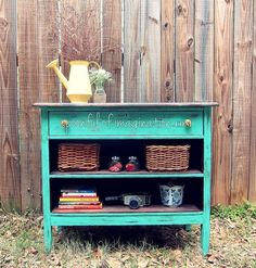 Recycled Dresser Into a Fun Piece >>> For more information, visit image link.