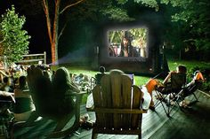 Outdoor Movie Theatre www.funflicks.com
